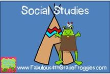 Social Studies / by Fabulous 3rd Grade Froggies