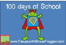 100 days of School / by Fabulous 3rd Grade Froggies