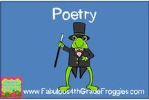 Poetry / by Fabulous 3rd Grade Froggies