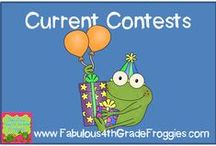 Current Contests & Giveaways! / by Fabulous 3rd Grade Froggies