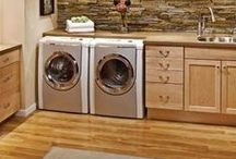 Home Decor: Laundry Room Makeover / by Paper & Parcel