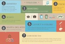 Infographic / #infographic about #web, #design, #socialnetwork