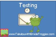 Testing / by Fabulous 3rd Grade Froggies