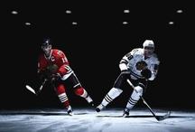 BLACKHAWK HOCKEY / A board for the greatest hockey team- the Chicago Blackhawks / by Emily Johnson