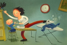 Illustrations - Whistle While You Work / by LT