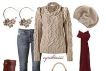 Styling Ideas - Winter / Ideas for outfits in my wardrobe - from Polyvore to Pinterest / by Elves Dreams