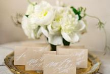 Neutral Colors Wedding / Classic and neutral colored wedding inspiration