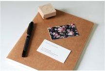 Design : Stationery / Paper products, print design, cards, business cards. / by Kat