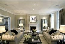 interiors / THE LIVING ROOM / by Jules Barton-Breck