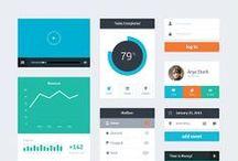 Flat Design / Design inspirations through the emergence of Flat Design : user experience, UX, UI, navigation.   Découvrez nos inspirations à travers l'émergence du Flat Design : expérience utilisateur, UX, UI, navigation