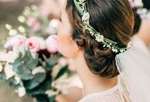 The Headress. / Veils, flowers & tiaras - a timeless collection of wedding hair piece ideas