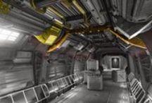 Game Art - Enviro - Sci-Fi