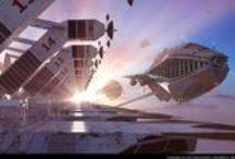 Concept Art - Enviro - Sci-Fi