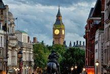 世界の大都会、ロンドンの魅力 / 世界中から人とものが集まる都市、ロンドンの風景を集めました。