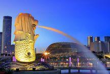 簡単にいける南国の大都会、シンガポールの風景 / 飛行機で7時間ほど、意外と簡単に行けて人気の観光地のシンガポールの見るもの食べるもの
