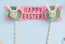 Joyeuses Pâques ! / Pâques rime souvent avec chocolat et gourmandises mais aussi avec activités créatives pour les enfants ! Découvrez toutes les idées piochées pour vous pour préparer cette fête.