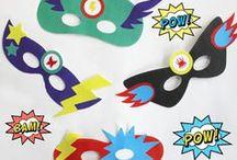 Mardi Gras / Fête gourmande et joyeuse, elle est l'occasion pour les enfants de devenir super héros, princesse, tigre ou pirate au gré de leurs envies ! Piochez ici les idées de recettes et de déguisements 100% #DIY