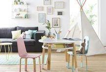 Inspiration scandinave / Couleurs pastels, empiétement bois...pas de doute la tendance scandinave s'est emparée de notre collection !