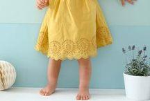Dentelle party ! / Dentelle des grands jours ou pour tous les jours, elle s'invite partout : en finition sur une petite robe raffinée, ou en application sur un débardeur en jersey ! Bébé, fille ou future maman, craquez pour la dentelle