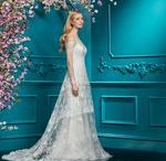 The Collection | 2018 / The 2018 collection re-imagines poise for the modern bride. Classic style is streamlined in clean, modern lines with a focus on luxurious and intelligent embroidery. Custom designed, colour coordinated embroidery enhances the considered feel while three-dimensional flowers create a look that is simply sensational. Explore now on www.ellisbridals.com