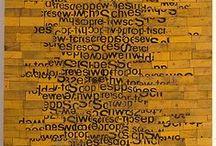 Text & Art / by Patricia Montoya