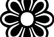 Fleur en tissu ou papier