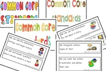 #♫♪ Common Core Standards♫♪ / Teaching Resources Aligned with CCS / by ♫♪ Kindergarten and First Grade Rocks ♫♪