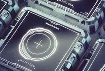 Tech Interface/ HUD