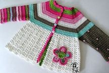 Crochet Sweaters and Dresses for Little Girls  / by Candy Selvey