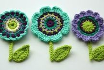 Crochet Flowers, Hearts and Shapes / by Candy Selvey