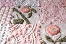 Sewing Quilts & Pillows / by Candy Selvey
