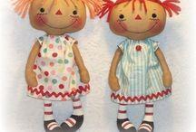 rag dolls / by Kara Christensen