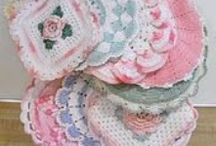 Crocheted Dishclothes & Potholders / by Candy Selvey