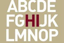 Alphabet - Monogramme