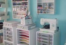 Rangement Atelier - Craft / Sewing Room