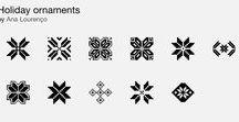Holiday Graphics / Vector graphics for winter holidays / Christmas