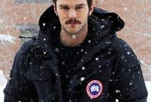 Canada Goose  / A collection of our favorite celebrities wearing Canada Goose jackets #canadagoose #winter #fashion