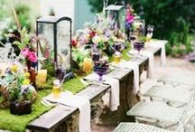 outdoor tables and dining