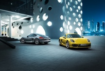 The Porsche Cayman / The new Cayman. Built to our specifications and the code of the curve. Consistently realised in a Sports Car that contradicts the common conventions of automotive manufacturing. 