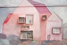 pink house / by Elizabeth Harris