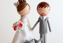 Cake toppers / by Jenniffer White