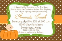 Kayla's Baby Shower (Lil' Pumpkin) / by Jennifer Steele