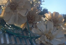 Paper and other Flowers / Large Paper flowers as well as other flowers