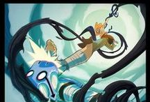 Aberrated Dynamic Cool / Fish eye, movement, posing characters...