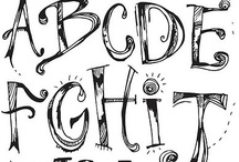 Letters, Fonts, Etc. / by Rachel Boykin