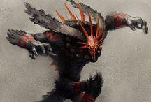 ENOR :: Criaturas / Monstruos, bestias, demonios, tanto de Summoner's Demonstation como el día a día de Enor