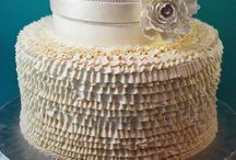 Textured-Buttercream Cakes / All kinds of texture with mostly buttercream.   / by Jenniffer White