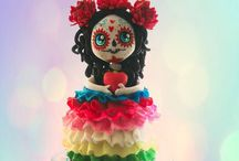 Day of the Dead Cakes / Day of the Dead Cakes / by Jenniffer White