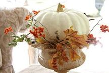 Fall Decor with Whites and Neutrals