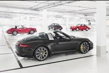 The 911 Targa is back. / Fashion changes. But style endures. Take a look at the exclusive pictures of the new 911 Targa models in this gallery. *Combined fuel consumption in accordance with EU 6: 10.0 - 8.7 l/100km; 237 - 204 g/km.